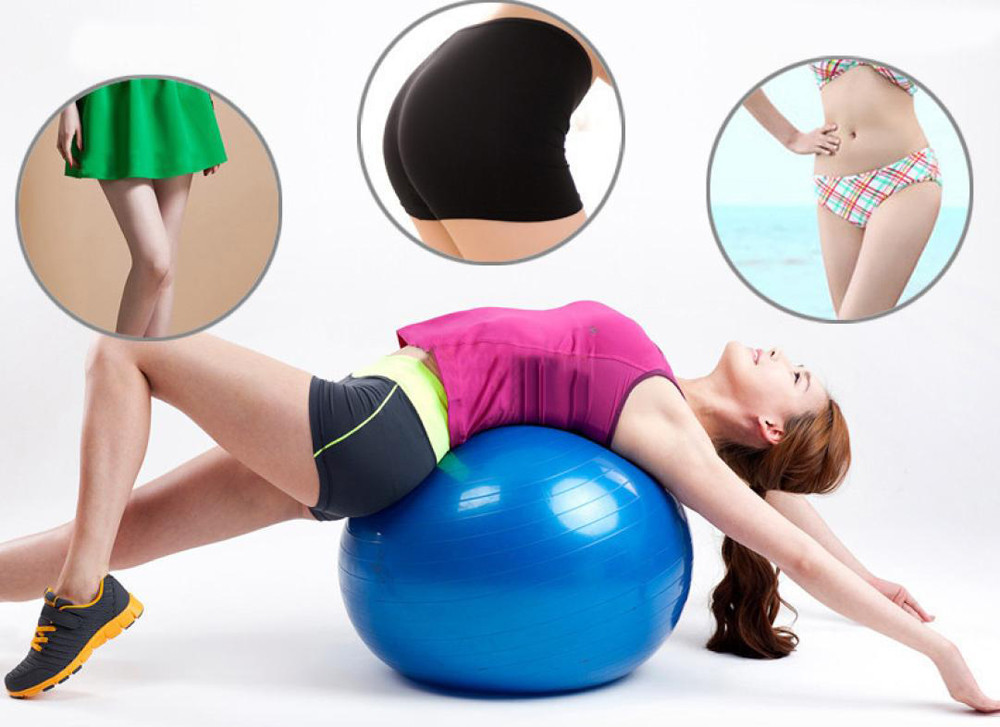 65cm Exercise Gym Yoga Ball Fitness Pregnancy Fitball Inflator Relief Full Body Sports Yoga Balls Bola Pilates Massage Workout Yoga Balls Aliexpress