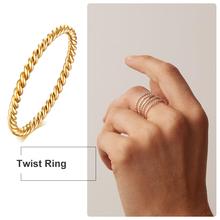1 5MM 2MM Knuckle Rope Twist Ring obrączka ślubna ze stali nierdzewnej dla kobiet dziewczyn układania biżuterii tanie tanio Meaeguet CN (pochodzenie) STAINLESS STEEL Kobiety Metal TRENDY Obrączki ślubne ROUND Other Zgodna ze wszystkimi R-243GMG