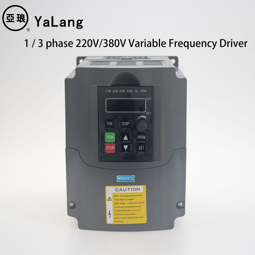 220V 380V VFD 1.5kw 2.2kw Single phase/Three-phase inverter 2hp 3hp VFD AC inverter Frequency Converter Variable Frequenc Drive