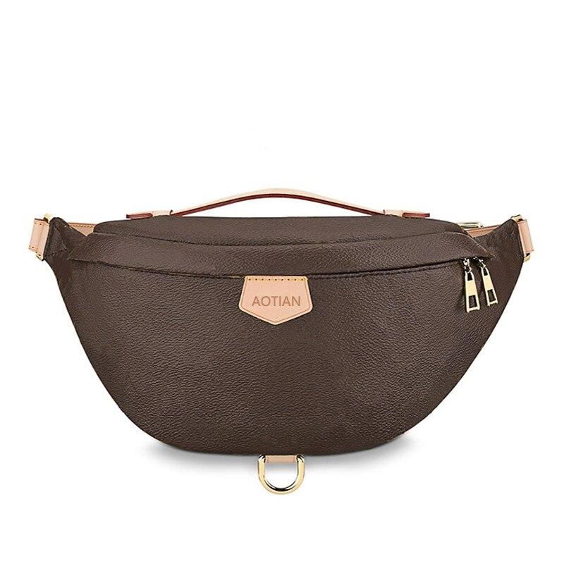 Luxury Brand Designer Bags Fashion Waist Bag For Women 2020 Famous Brand Women Top Quality Leather Monogram Samll Waist Bags