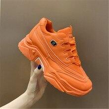 INS Vintage papá zapatillas mujer cuña plataforma zapatos de alta calidad transpirable al aire libre zapatos de entrenamiento blanco Casual niñas zapatos