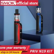 سموك أصلي Priv N19 عدة 1200mah بطارية M/S/N/H 5 30W 2 مللي nord 19 خزان Nord شبكة 0.6ohm 0.8ohm لفائف سيجارة إلكترونية