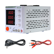 DC Electrical Source Regulated DC Power Supply Adjustable Switching Digits Display 30V 10A High Precision Single channel output