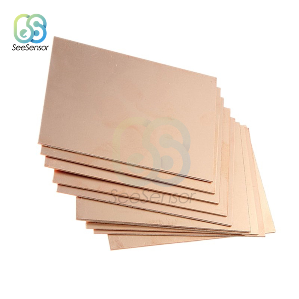 Single//Double Sided Copper Clad Plate Laminate PCB Circuit Board 7x10cm—20x30cm