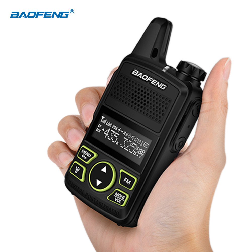 Original Baofeng BF-T1 Mini Bluetooth Walkie Talkie UHF Portable Two Way Radio FM Function Ham Radio Baofeng USB HF Transceiver