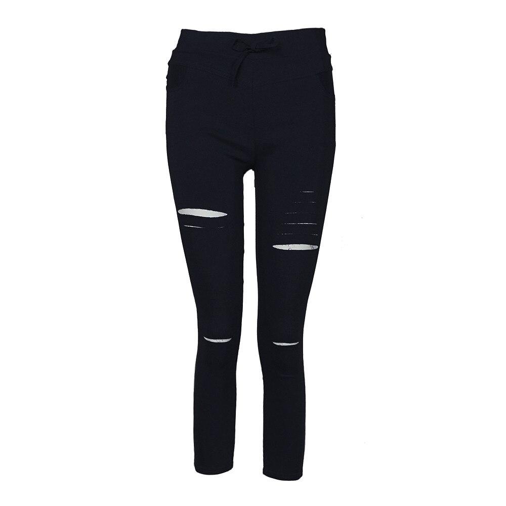 H97aaf708f5d74eca8721db1feff330b4o White Jeans Feminino Plus Size Candy Pantalon Femme Black Skinny Jeans Woman Long Pants Large Size Jeans For Women