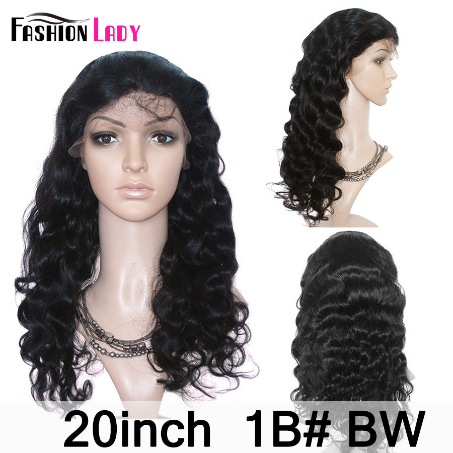 Fashion Lady Remy Human Hair Lace Front Wigs 13x4 Pre Plucked Lace Wigs Bleached Knot Human Hair Wig With Baby Hair