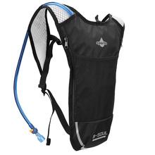 5L Outdoor Sport kolarstwo Camping torby do przechowywania wody Hydration kieszonkowy plecak UltraLight piesze wycieczki Bike Riding Pack plecak pęcherza tanie tanio CN (pochodzenie) NYLON Bryzgoodporna 15935 Black Red Blue Silver White 183g