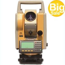 Горячая продажа низкая цена Профессиональное геодезическое оборудование DTM152 topcon общая станция для продажи и с одной призмой 2000 м