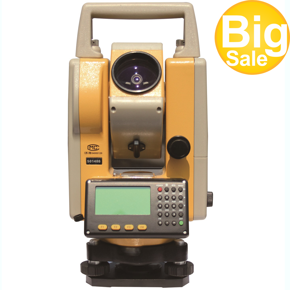 Hot Selling Low Price Professional Surveying Equipment  DTM152 Topcon Total Station For Sale And With Single Prism 2000m