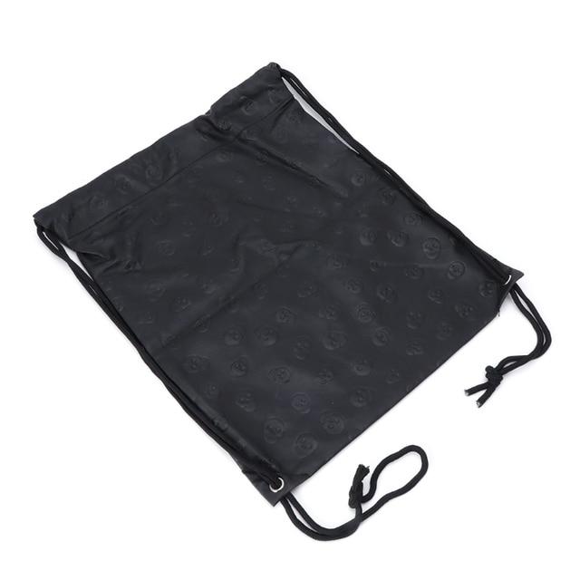Фото новая сумка унисекс с черепом и шнурком модный спортивный рюкзак