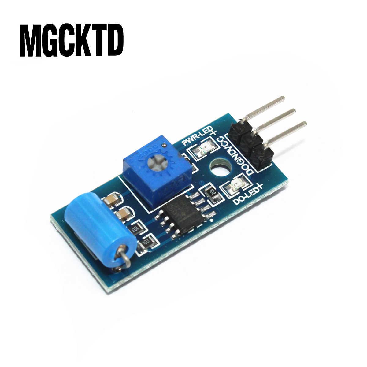 1PCS SW-420 Modulo di Allarme del Sensore di Movimento di Induzione del Sensore Modulo di Vibrazione Interruttore di vibrazione
