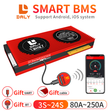 Lithium-Battery-Pack Bluetooth-Module Daly 4S Smart-Bms Li-Ion-Lifepo4 13S with Free