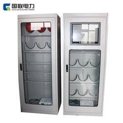 الطاقة الكهربائية جميع ذكي أداة آمنة Ark درجة حرارة ثابتة إزالة الرطوبة جميع كابينة المعدات الذكية آمنة باب واحد كابينة المعدات الذكية