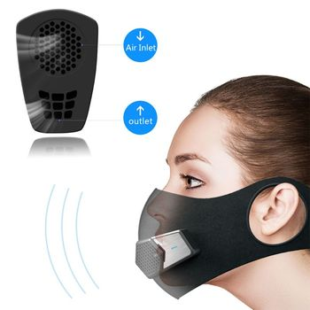 -Pollution Respirator  Filter Sport Cycling Bicycle  Dust Air Pollution Mask Outdoor Air Breathing Purifier