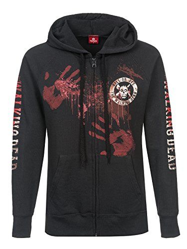 The Walking Dead Kill Or Die Kapuzenjacke Schwarz M