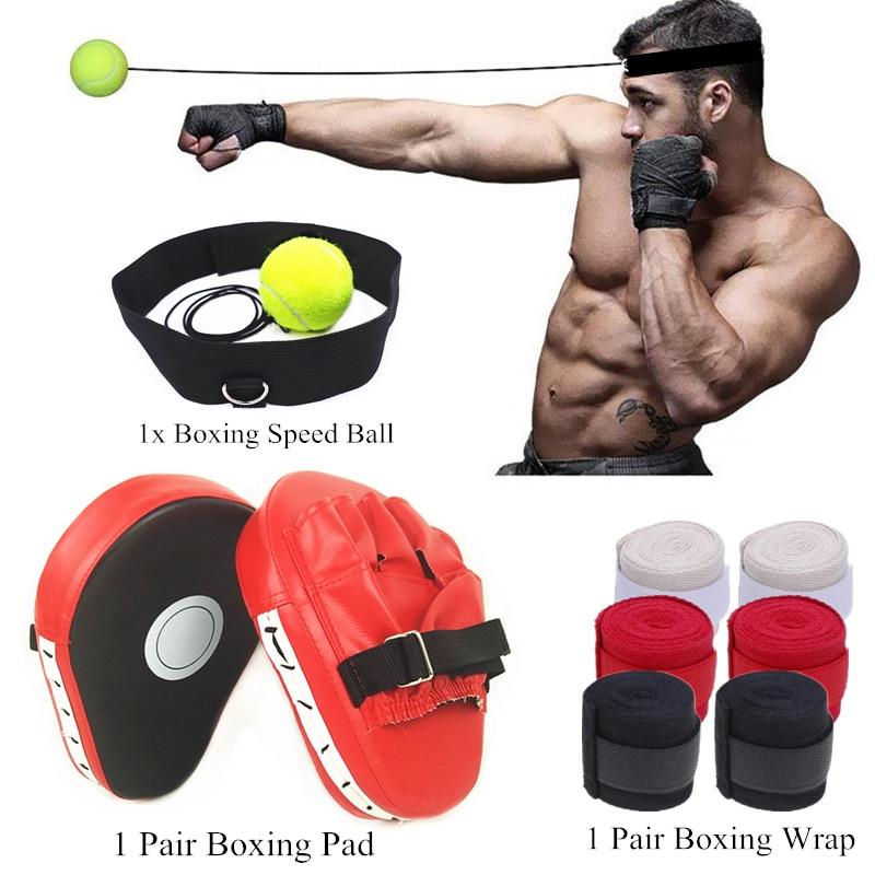 BOXING BAR REFLEX TRAINING TARGET DUMMY SPEED BALL GYM FITNESS MMA UFC MUAY THAI