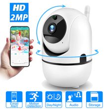 HONTUSEC WiFi IP Camera 1080P HD Home IP Security Nanny Camera With Night Vision Motion Detection Security Surveillance 2.4GHz
