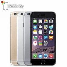 Для Apple iPhone 6 на базе IOS 4 аппарат не привязан к оператору сотовой связи для разблокированного мобильного телефона Dual Core 4,7 'ips 1 ГБ Оперативная память 16 Гб/64/128 ГБ Встроенная память отпечатков пальцев