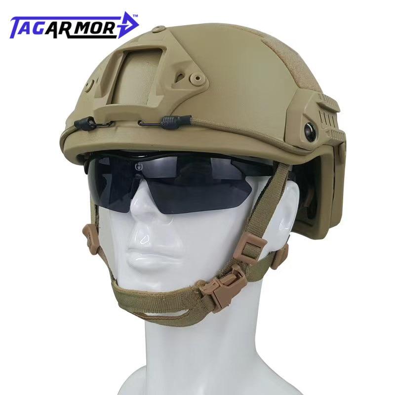 US Standard NIJ IIIA Military Aramid Bullet Proof Helmet Tactical Combat Helmet Fast Ballistic Helmet