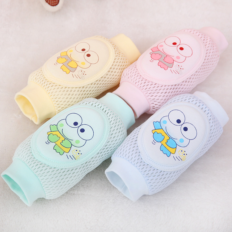 Kids Girl Boy Crawling Elbow Toddlers Baby Knee Pads Protector Safety Mesh Kneepad Leg Warmer Children cushion Legging Infants