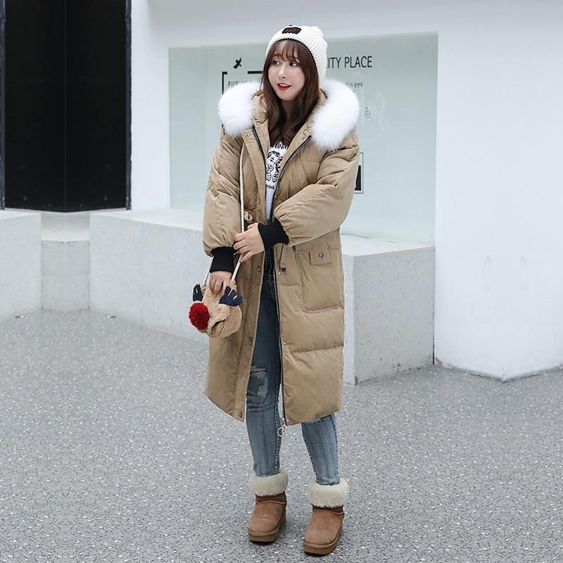 Women Jacket Plus Size White Duck Down Coat Winter Down Jacket Women Jacket Korean Puffer Jacket Chaqueta Mujer YY1260