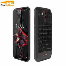 Oukitel telefone celular k13 pro 6.41 Polegada, android 9.0, 4g, lte, mt6762, 4g ram, 64g rom smartphone tipo c nfc de 11000mah, identificação facial