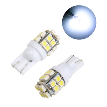 2 Piece Signal Light Canbus Error Free T10 White 20SMD LED Car Side Wedge Light T10 LED Lamp Bulb image