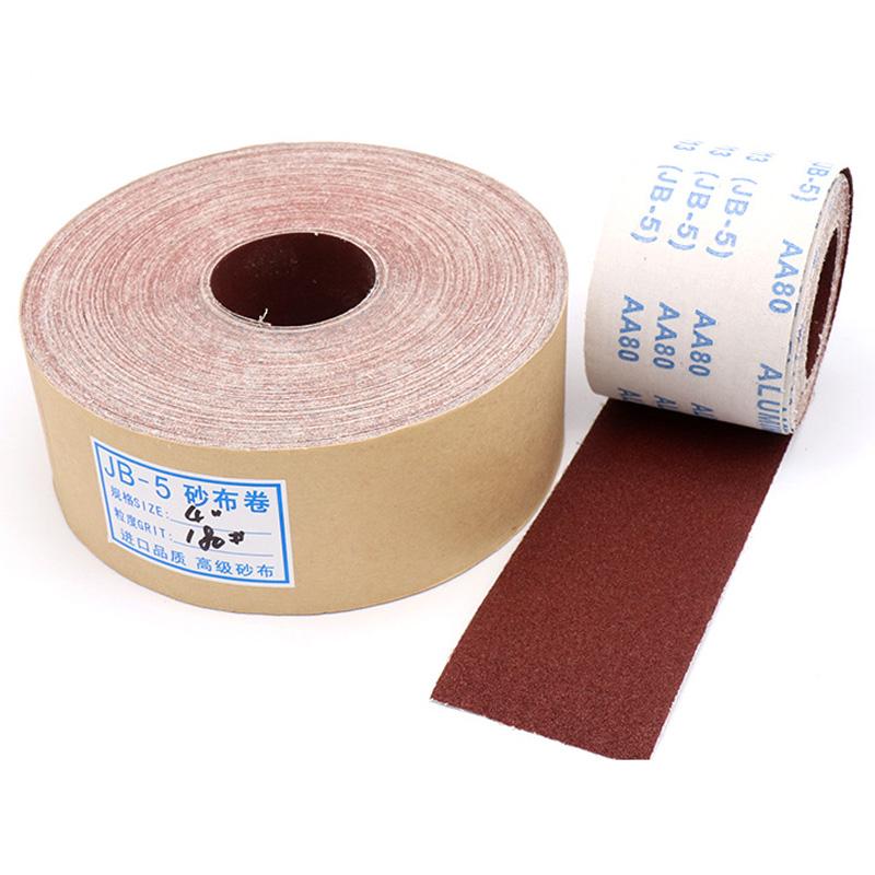 1Meter 80-600 Grit Emery Cloth Roll Polishing Sandpaper For Grinding Tools Metalworking Dremel Woodworking Furniture Abrasive