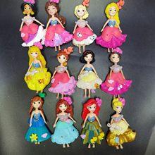 5 pçs disney bonito polly menina boneca figuras 9cmelsa sereia anna belle neve branco longo cabelo princesa bonecas para melhor boneca diy presentes