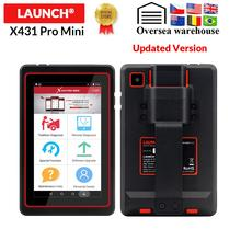 New Arrival LAUNCH X431 Pro mini v3.0 Full system diagnostic tool BT WIFI obd2 code reader TPMS DPF 15 reset 2 year free update