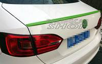 UNPAINTED  Trunk Boot Spoiler Wing Lip Fit For VW Jetta A6 MK6 GLI 2011 2013 V018F|Sway Bars|   -
