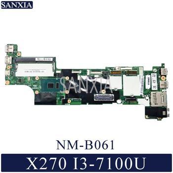 KEFU NM-B061 Laptop motherboard for Lenovo ThinkPad X270 original mainboard I3-7100U