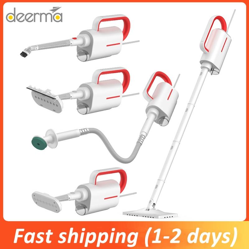 Original Xiaomi Deerma ZQ610 Steam Cleaner Electric Handheld Steam Mop Floor Cleaner Free 5 Attachments Cleaning Vacuum Machine