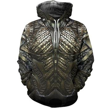3D Printed God Of War Armor Kratos Men Hoodie Harajuku Knights Hooded Sweatshirt Street Unisex Casual hoodies sudadera hombre
