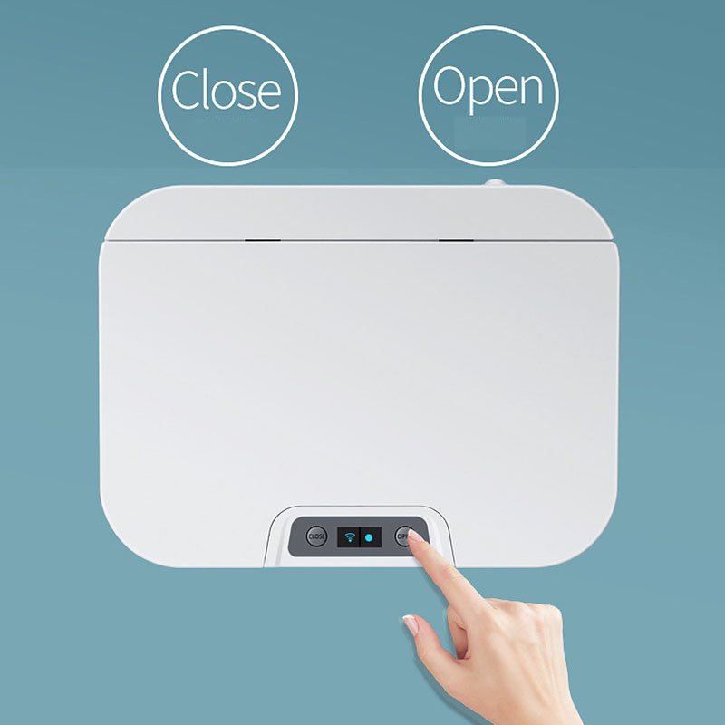 Automático sensor touchless cozinha lixo canintelligent indução