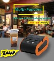 handheld Bluetooth label printer thermal 3 inch 80mm