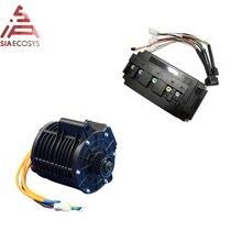 QS MOTOR 138 3000W nieuwe versie mid drive motor riem aangedreven en EM150SP controller voor elektrische motor Z6 100KPH 72V