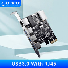 ORICO USB3.0 PCI Express Expansion Card Type-c Port Gigabit Network Rj45 Expansion for Mac Windows Linux
