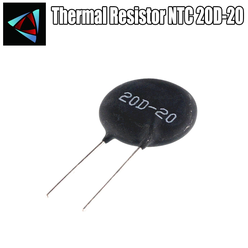 2pcs Thermal Resistor NTC 20D-20