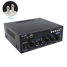 600 Вт усилитель мощности аудио стерео автомобильный домашний двухканальный цифровой мини с пультом дистанционного управления Bluetooth FM радио HIFI музыкальный сабвуфер