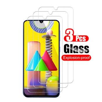 Перейти на Алиэкспресс и купить Защитное стекло, закаленное стекло 9H 0,26 мм для Samsung Galaxy M31, 3 шт.