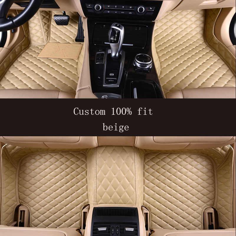 Color : Beige, Size : 1 pcs Fit for Lexus Gs Lx570 is 250 Rx Gs300 Rx 350 Nx Lx470 ES Ls460 Gx470 Es350 Rx350 Ct200h Rx330 Carpet Rugs Floor Mats Leather Car Floor Mats