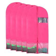 Foldable Oxford Dustproof Hanger Coat Clothes Garment Suit Cover Storage Bags clothes storage Case clothing covers suit bag