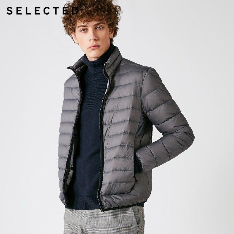 SELECTED Winter   Down   Jacket New Warm Clothes Men's Business Leisure Light Short   Down     Coat   Suit S | 418412559