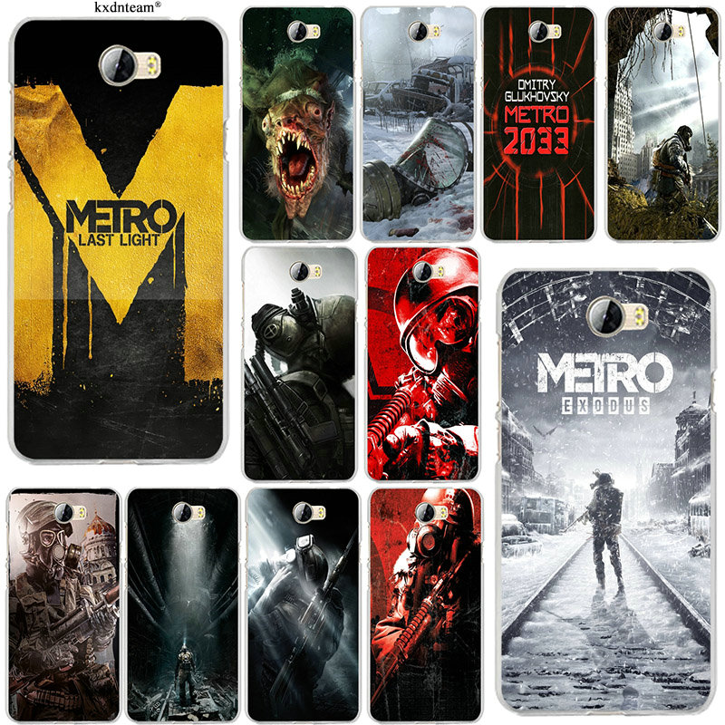 Soft Silicone TPU Phone Cases Games <font><b>Metro</b></font> <font><b>2033</b></font> for Huawei P8 P9 P10 Mate 10 Pro Y5 Y6 Y3 II Y7 <font><b>Honor</b></font> 6X 7X <font><b>9</b></font> Lite Shell Cover image