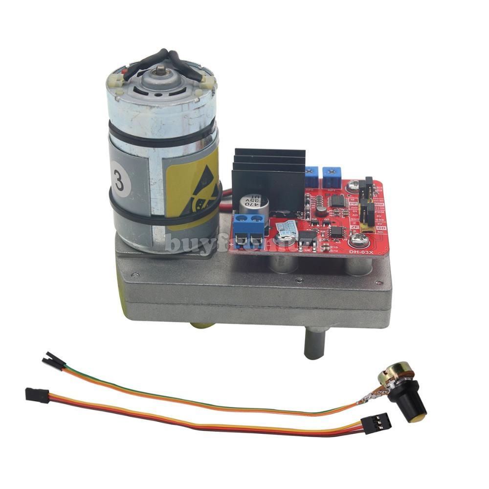 Υψηλή ροπή σερβο / κινητήρα DC12V 24V 180/220/260/300 / 380kg.cm χάλυβα γραναζιών για μηχανικό βραχίονα ρομπότ