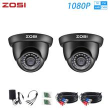 ZOSI HD 1080P TVI AHD Analog Color CMOS Indoor / outdoor Waterproof Night Vision CCTV Security Cameras with IR cut filter Lens