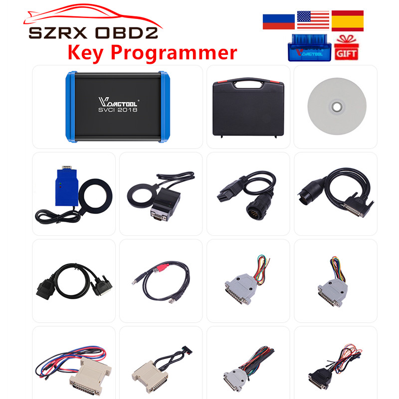 FVDI V2014 V2015 Full Version Commander Abrites For Most of Car 18 full Set FVDI OBD