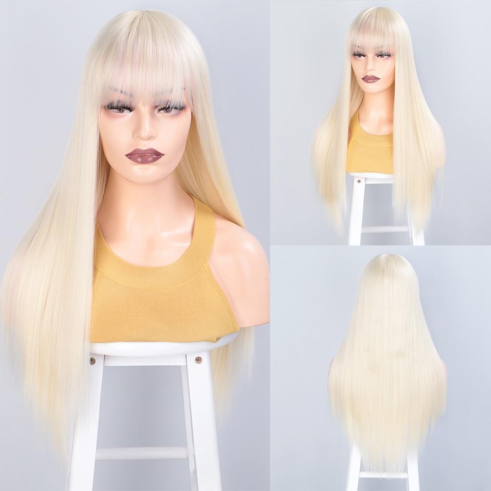 loiras com franja para mulheres cabelo diário